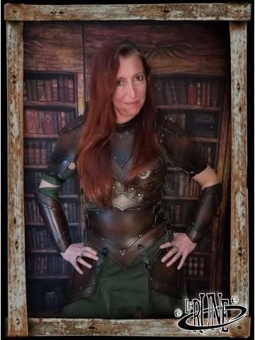 Leather tassets Senua Klarel