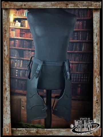 Leather tassets Gherman (Mk. 2)