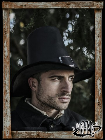 Johann Witch Hunter Hat - Black
