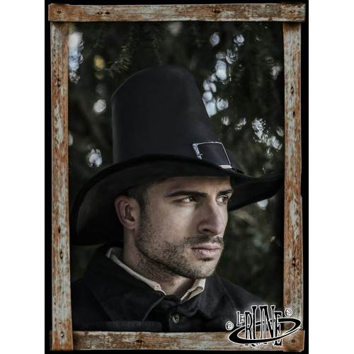 Johann Witch Hunter Hat - Black