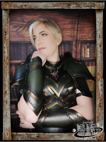 Leather bracers Ashildur