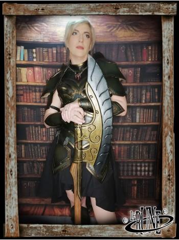 Leather bodice Ashildur