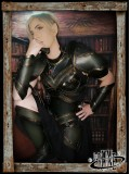 Leather greaves Ashildur