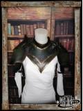 Leather pauldrons set Ashildur