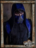 Akku split leather Set - Blue