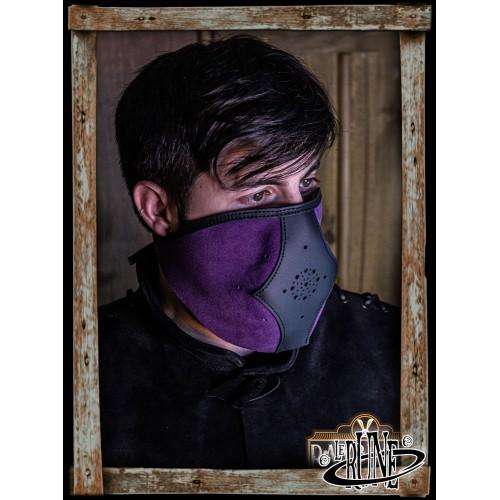 Akku split leather Set - Purple