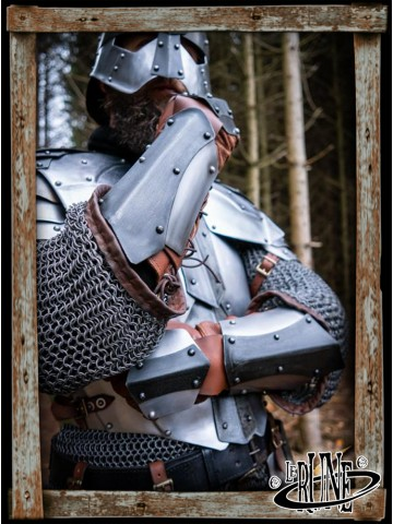 Dreki Armguards - Matte Polish/Epic Dark