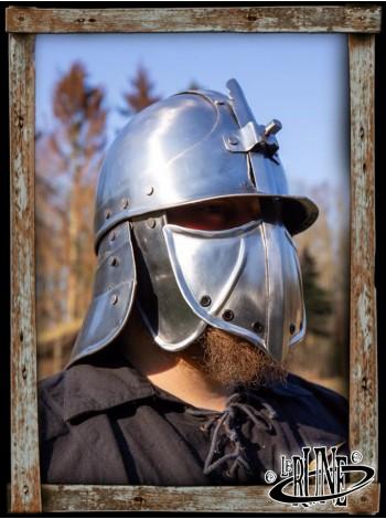 Ratio Helmet - Polished Steel
