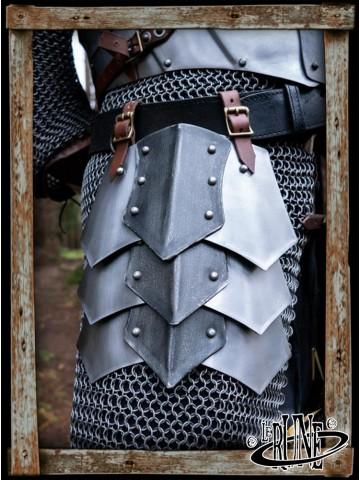 Dreki Belt Shields - Matte Polish/Epic Dark
