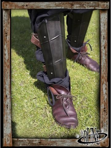 Dark Drake Leg Protections - Epic Dark