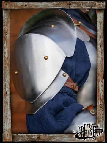 Renegade Shoulders - Polished steel