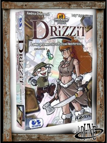 Drizzit - The Card Game - Blades and Potions (ITA)