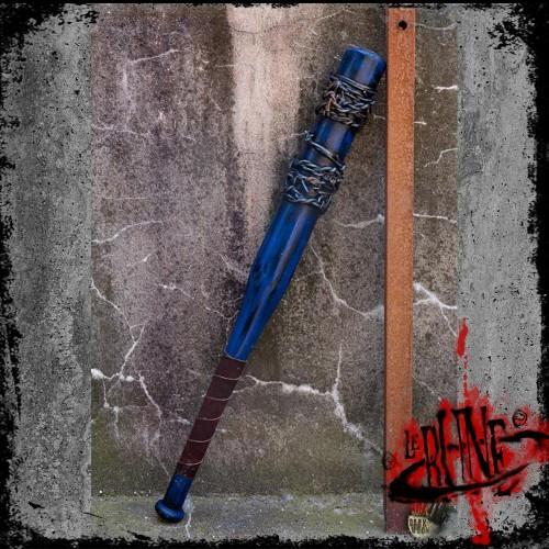 Barbed wire bat - blue (80cm)