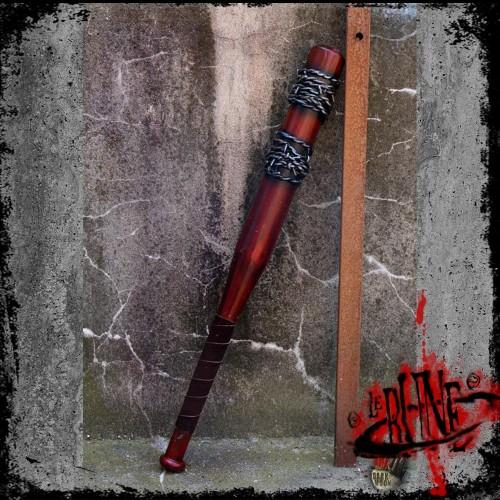 Barbed wire bat - red (80cm)