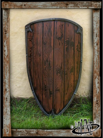 Footman shield - Wood (90x60)