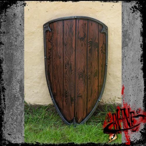 Footman shield - Wood (90x60)