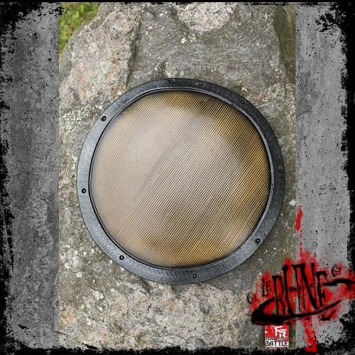 RFB Buckler shield - Wood - ø36 cm