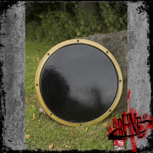 RFB Round Shield - Black/Gold - ø50 cm
