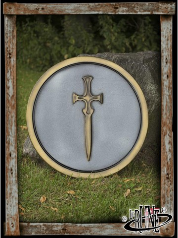 RFB Round Shield - Sword - ø50 cm