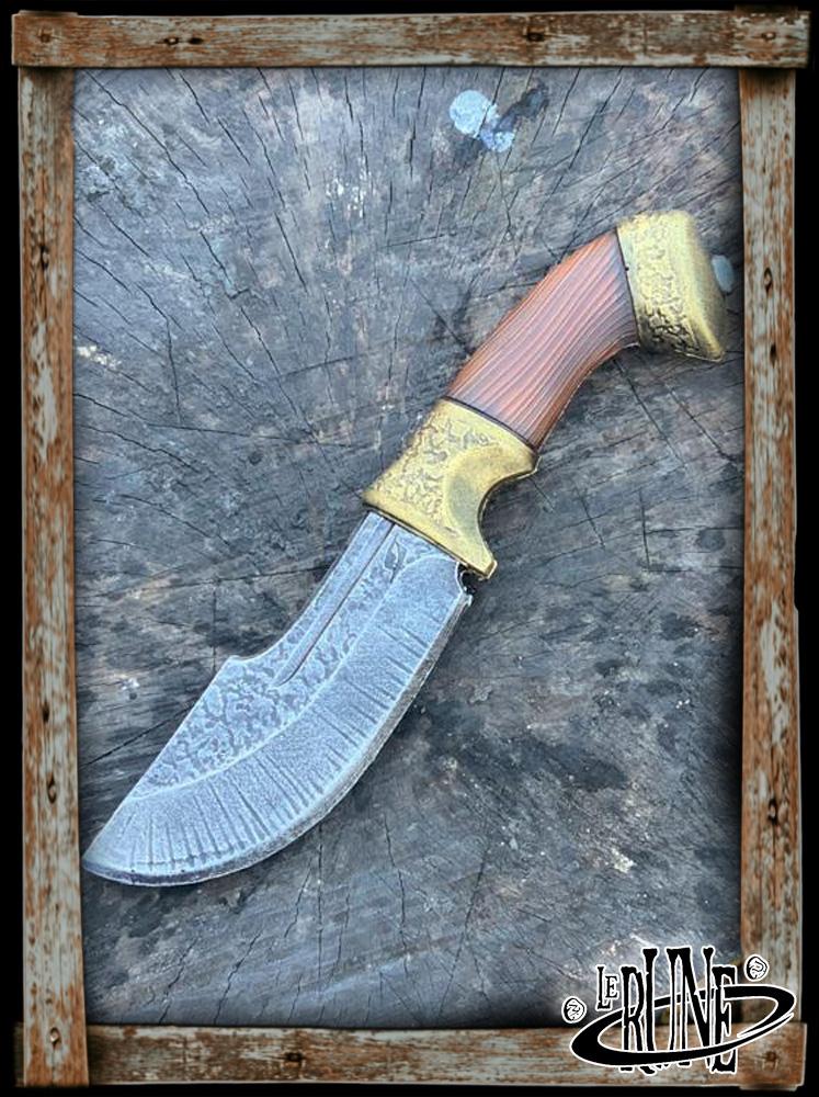 Coreless Hunters Knife - Gold - 21 cm