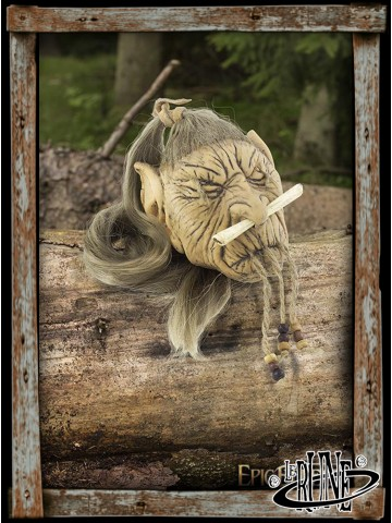 Elf Shrunken Head