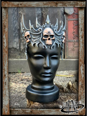 Skull Tiara