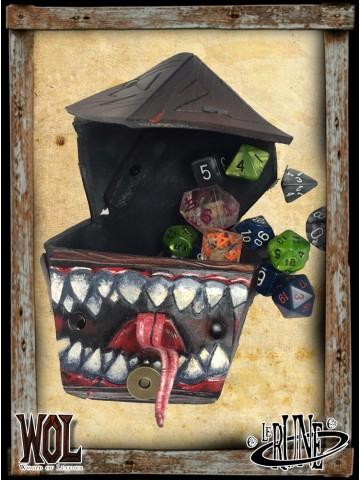 Dice bag of dice - Mimic