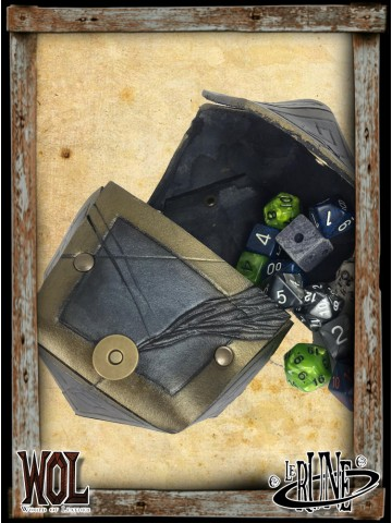 Dice bag of dice - Master (Gold and Silver)