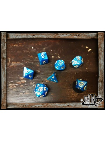 Dices set for RPG (7) - Blue Marble
