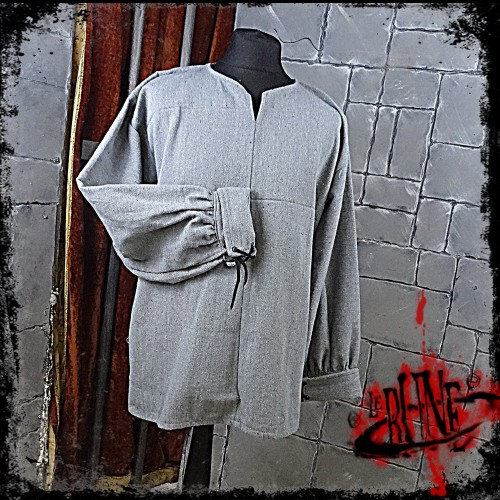 FIRST BLOOD canvas shirt Grey