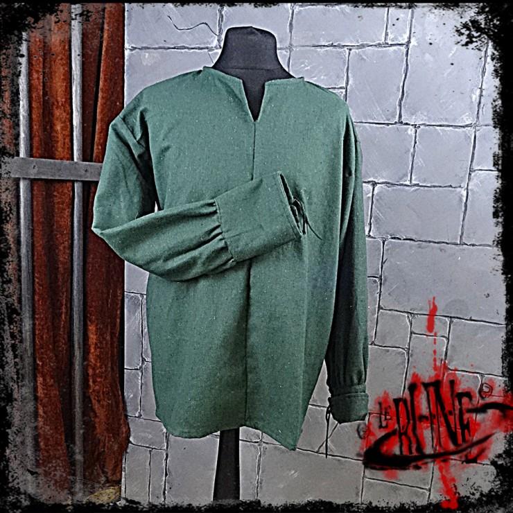 FIRST BLOOD canvas shirt Green