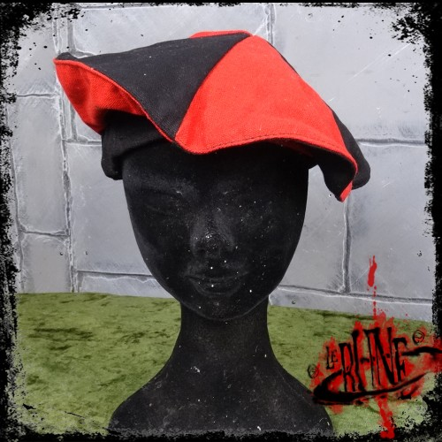 Canvas beret Olaf