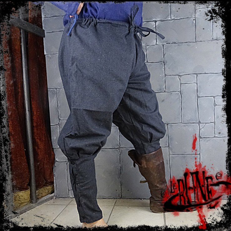 Canvas trousers Parsifal Grey