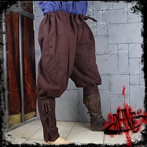 Canvas trousers Parsifal Brown