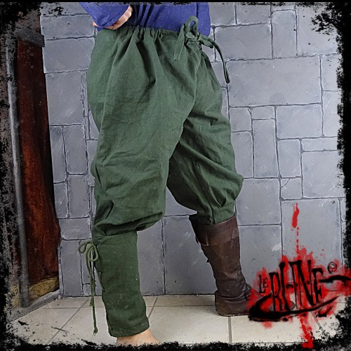Canvas trousers Parsifal Green