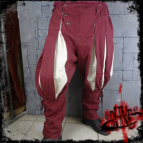 Canvas trousers Olaf