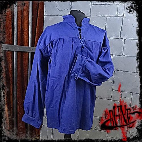 Canvas shirt Parsifal Blue