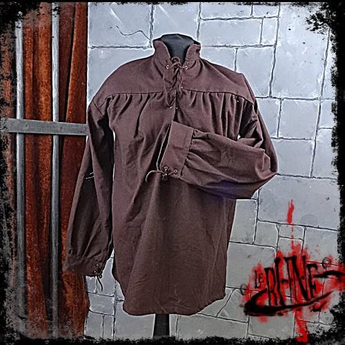 Canvas shirt Parsifal Brown