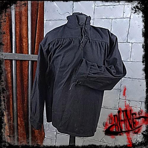 Canvas shirt Parsifal Black