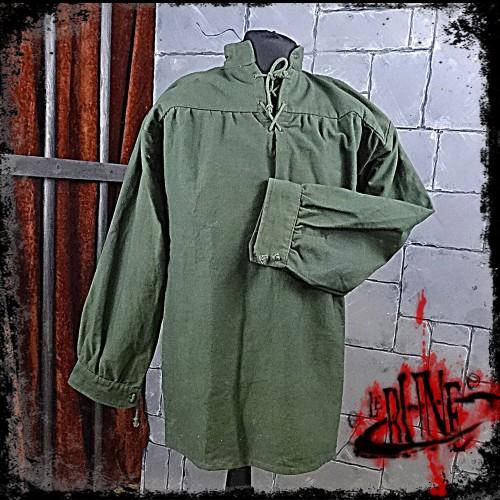 Canvas shirt Parsifal Green