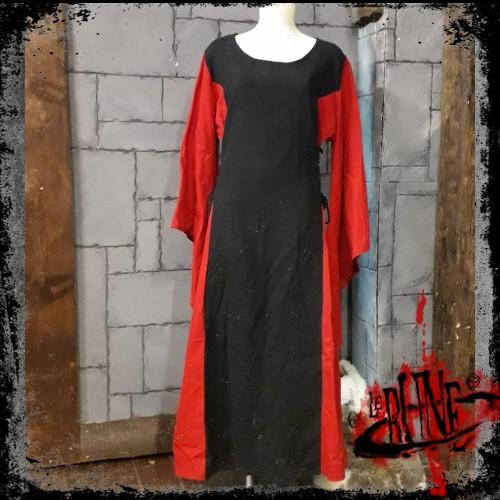 Female dress Demetra Black / Red