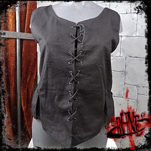 Canvas corset Leona