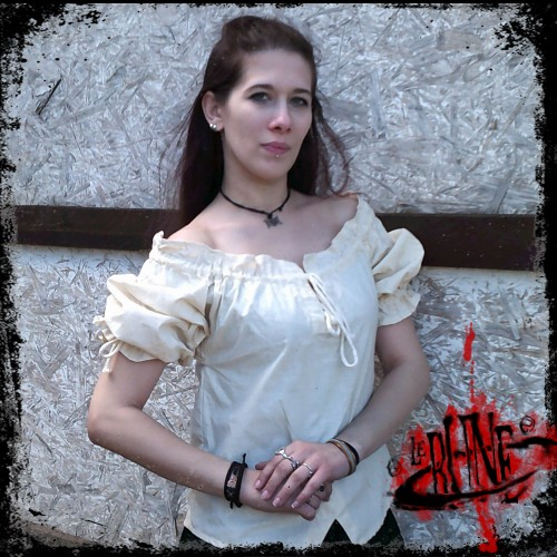 Cotton blouse Julia white