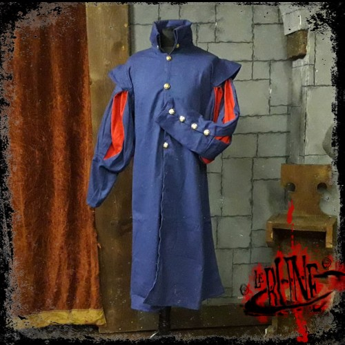 Canvas tunic Prince Blue/Red (V2)