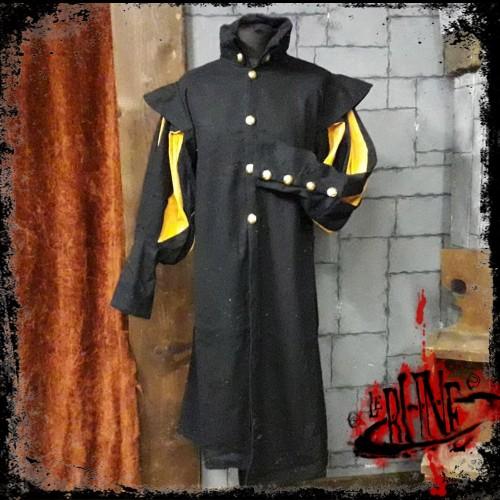 Canvas tunic Prince Black/Yellow (V2)