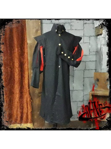 Canvas tunic Prince Black/Red (V2)