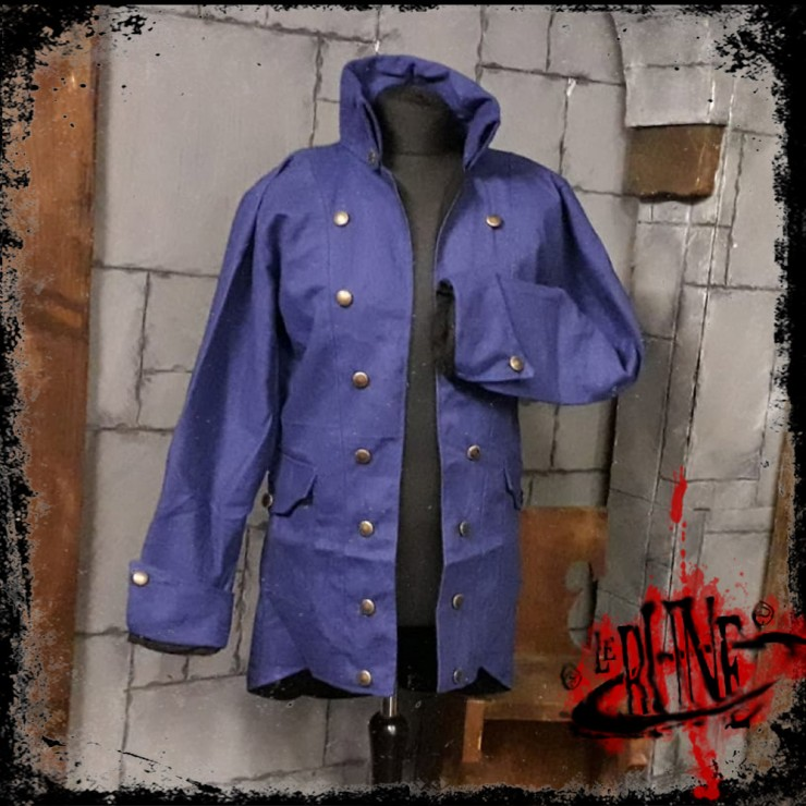 Canvas jacket Rackham Blue (Mk. 2)