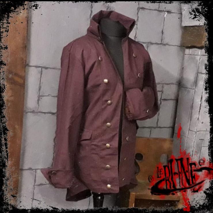 Canvas jacket Rackham Brown