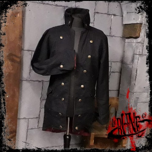 Canvas jacket Rackham Black (Mk. 2)