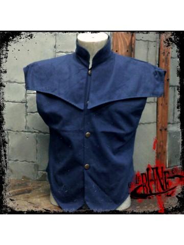 Canvas jacket Pollux blue